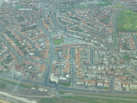 Bispham from the air