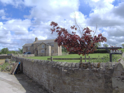 Cleveley Bank farmhouse Scorton