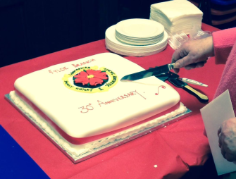 Fylde Branch 30th Anniversary Cake