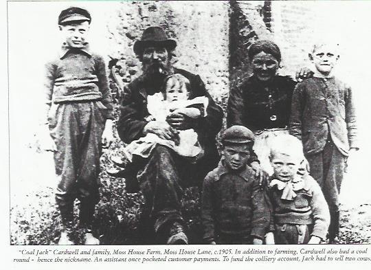 jack cardwell, moss house farm 1905
